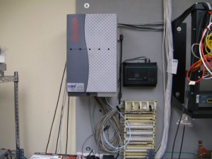 Avaya Partner ACS small business phone system complete install and music on hold