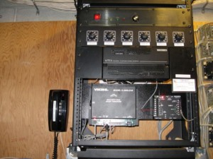 Rack Mounted, Paging System, PA, Public Address, Test Phone